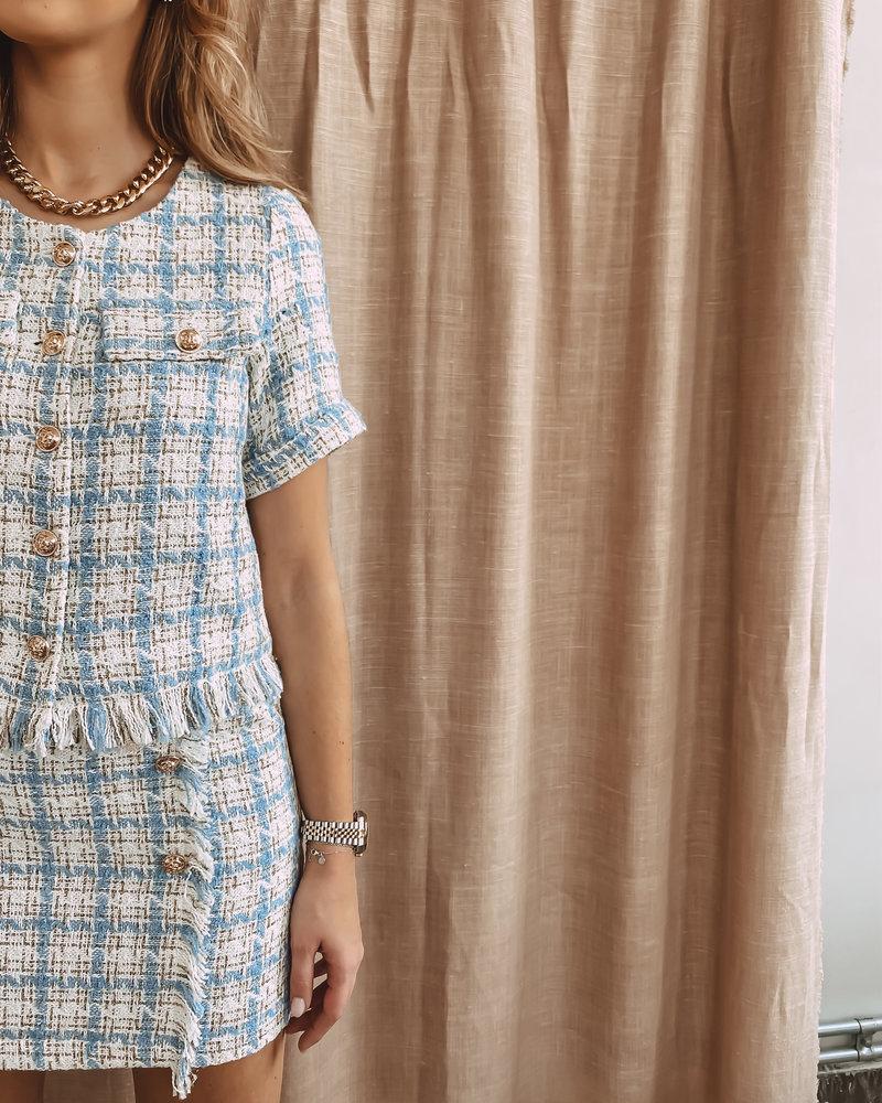 Blue Dolly Skirt