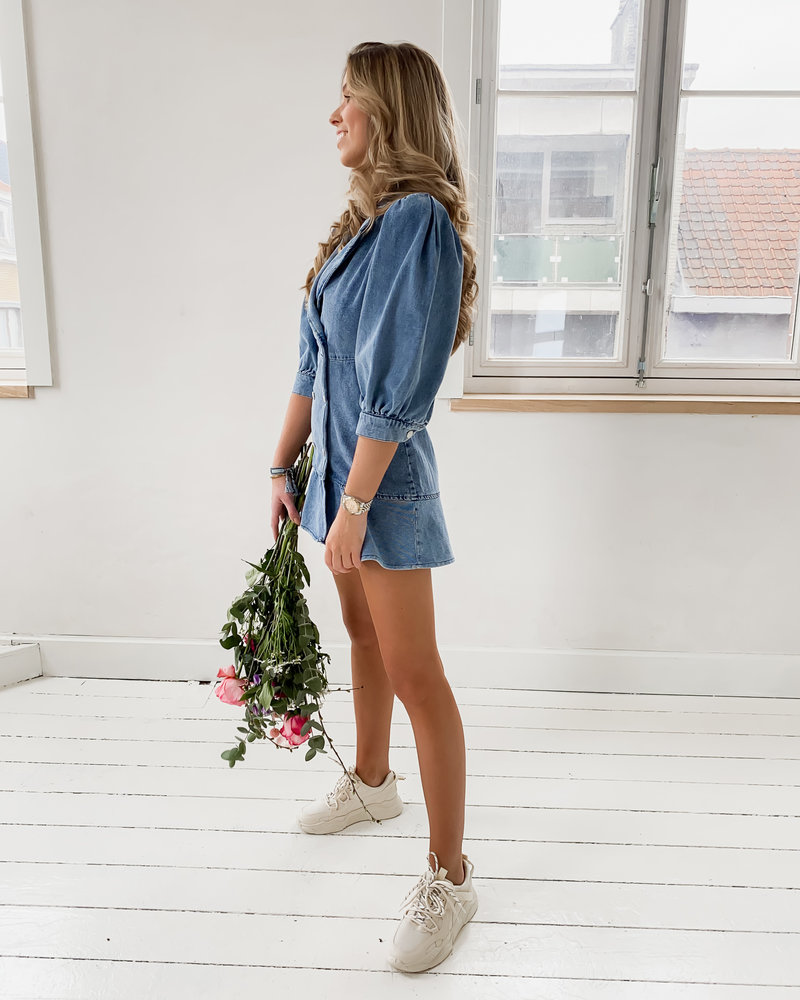 Girly Jeans Dress