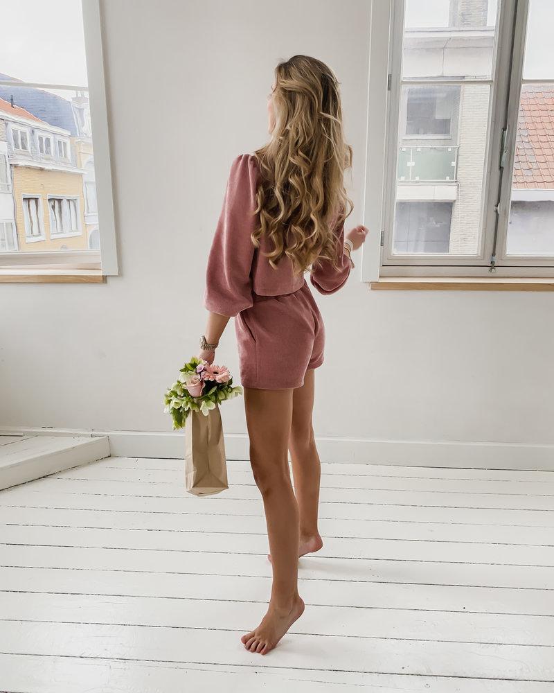 Soft Old Pink Homesuit