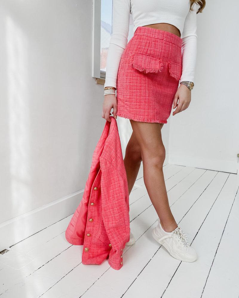 Sophia Pink summer Skirt