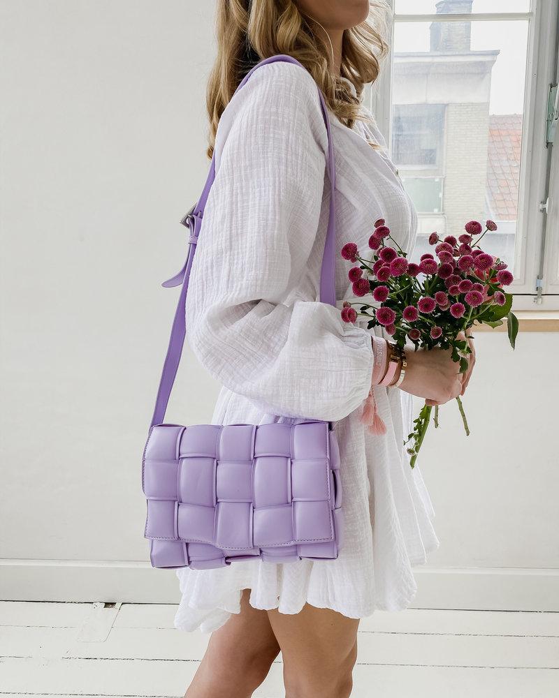 Lila Leather Bag