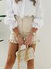White Lace Paper Blouse