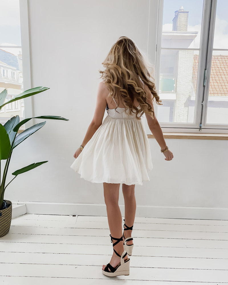 Boho Black Summer Dress