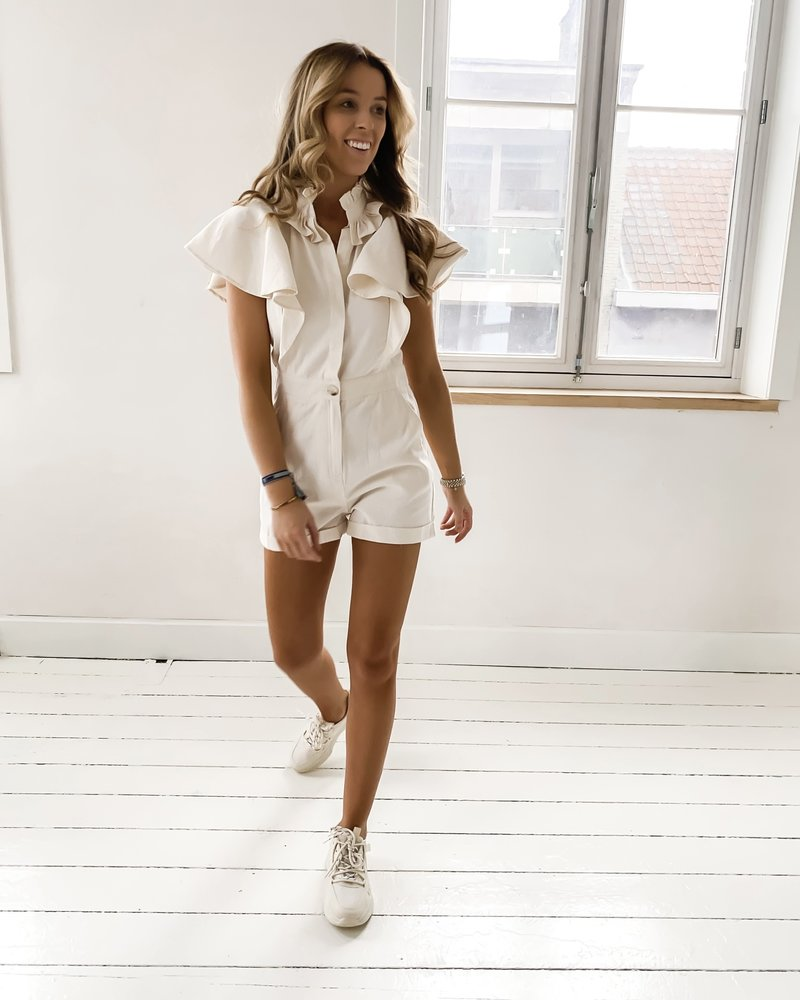 Girly Sand Playsuit
