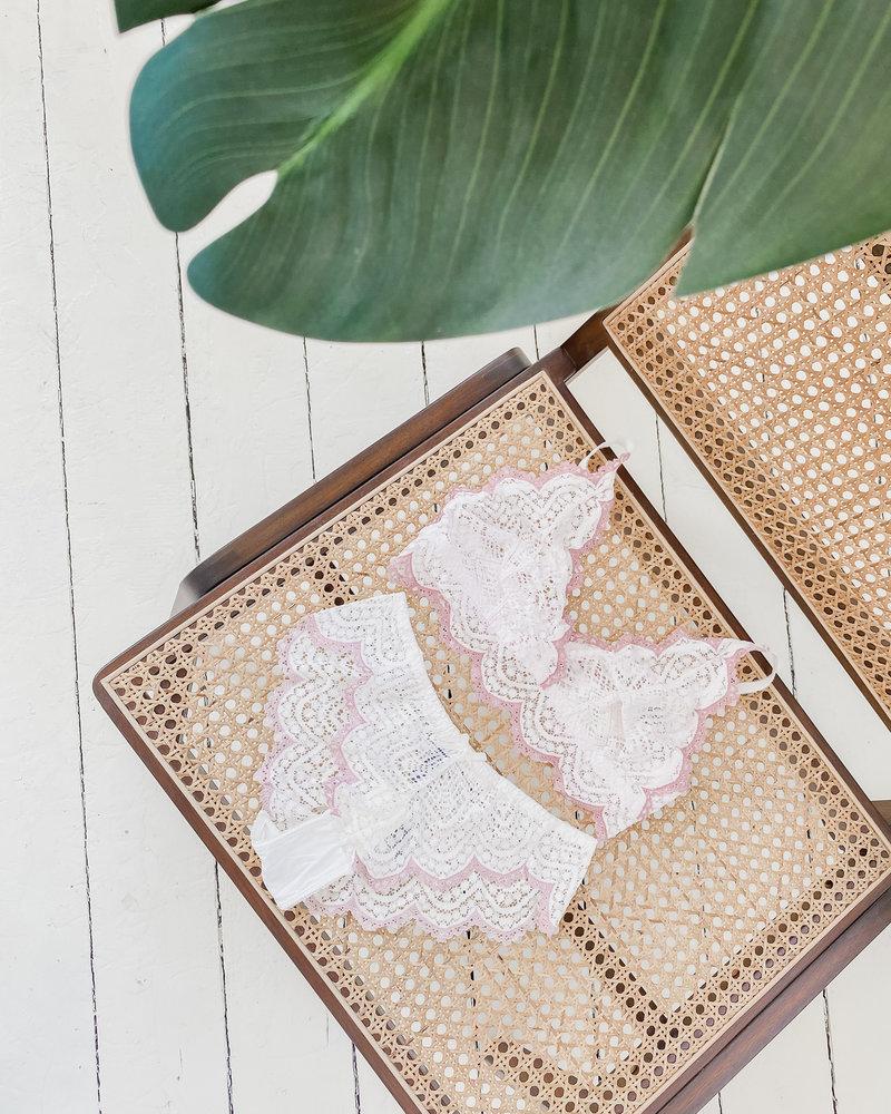 White Detail Lingerie set