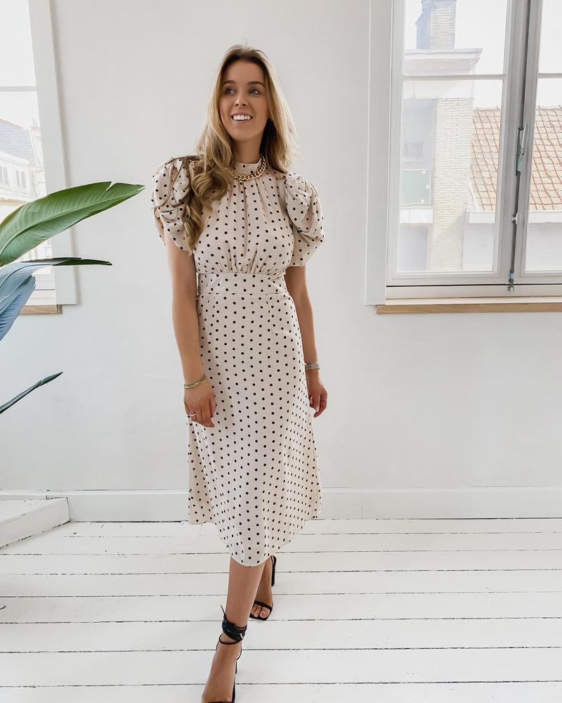 Poffy Polkadot Dress