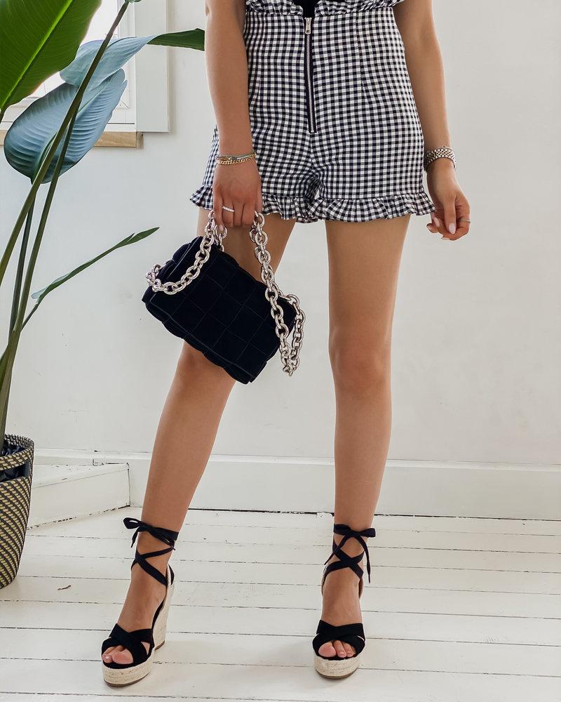 Black Vichy Short
