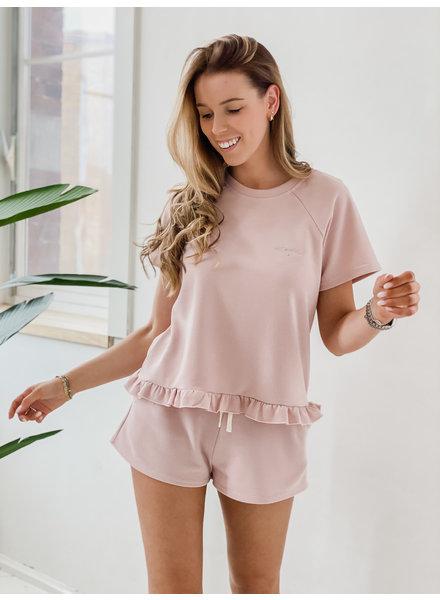 Pink Love Homesuit
