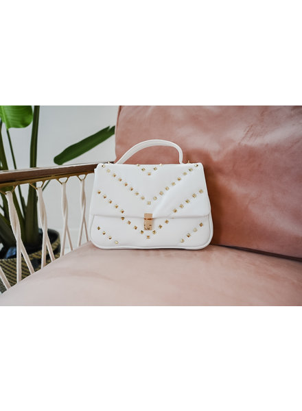 White Valentino Inspired Bag