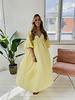 Yellow Oversized Beach Dress