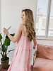 Pink Tetra Layerd Dress