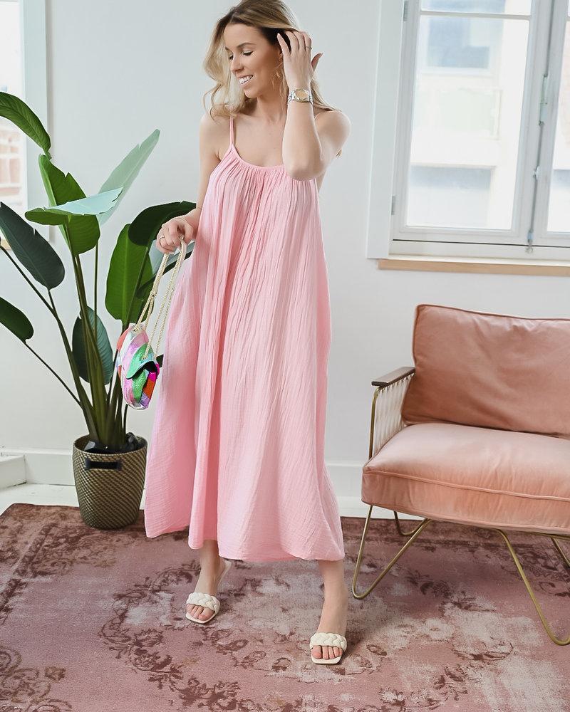 Soft Pink Tetra Dress