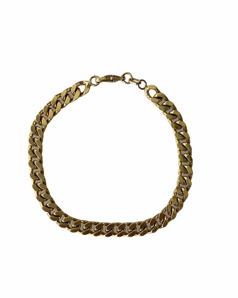 Golden Chunky Bracelet