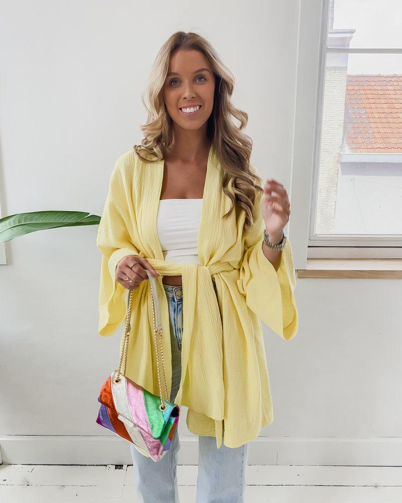 Yellow Kimono