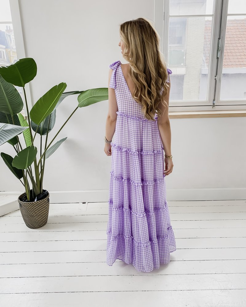 Long Bow Lila Vichy Dress