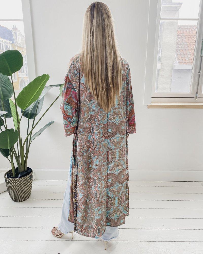 Long Unique Kimono Number 216
