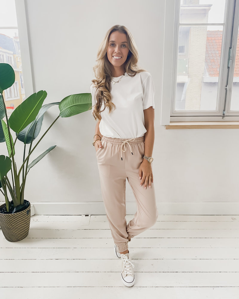 Suede Baggy Relax Trouser