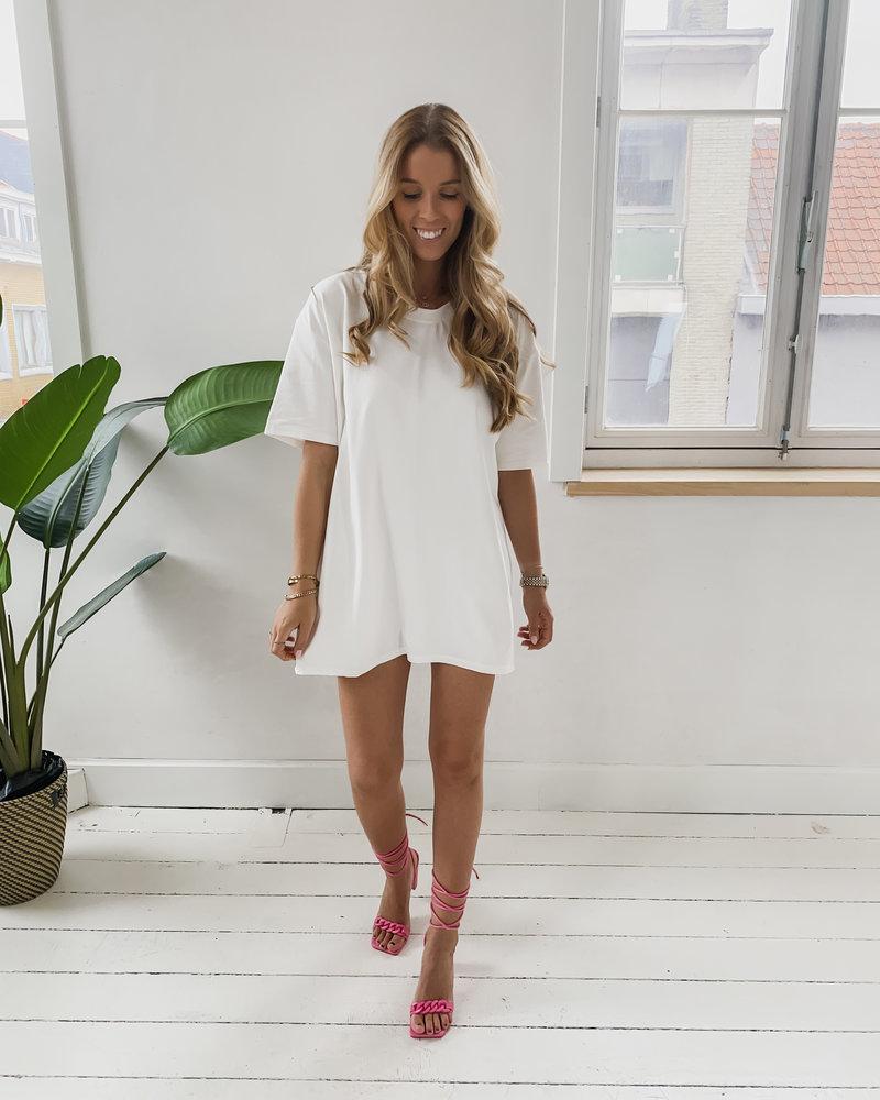 Basic WhiteT-Shirt Dress