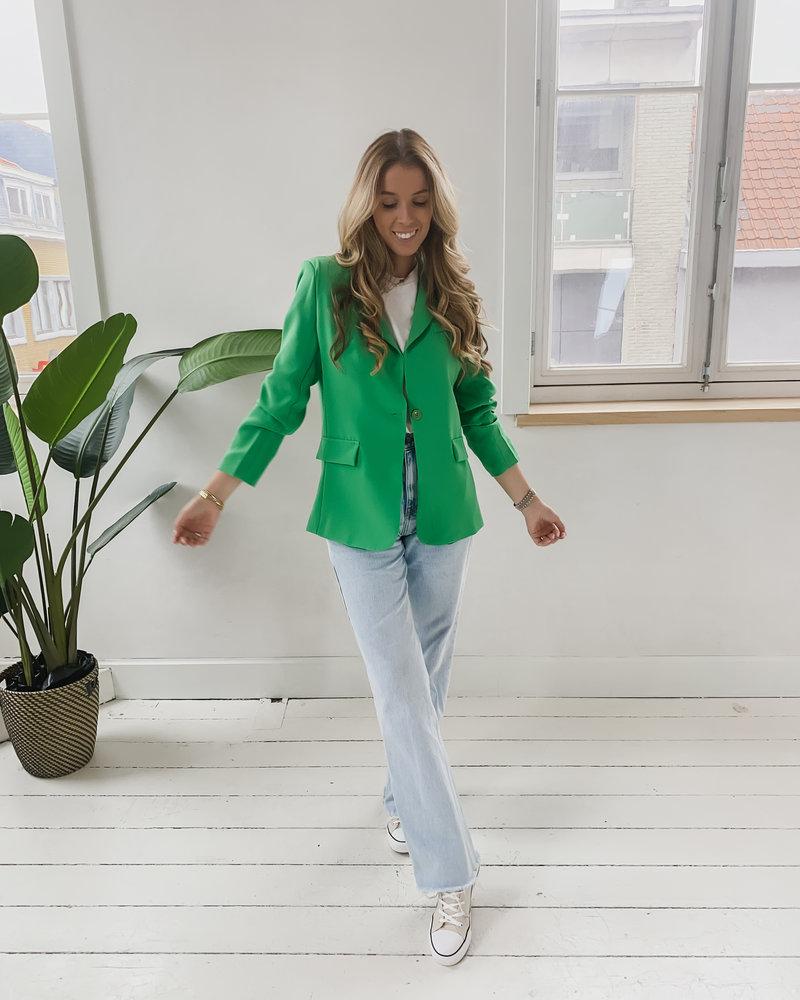 Green Summer Blazer