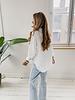 White Linen Basic Blouse