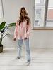Pink Linen Basic Blouse