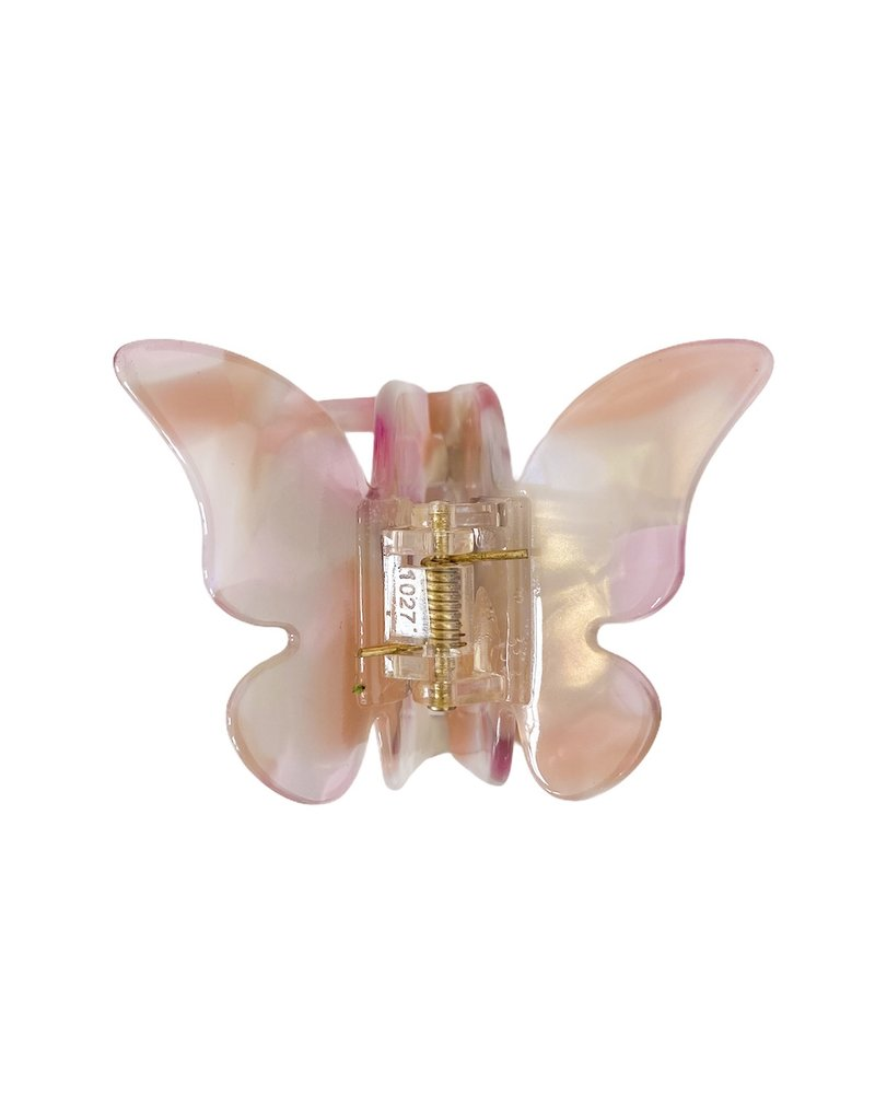 Lila Butterfly Hairclip