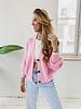 Pink Button Cardigan