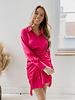Fuchsia Frill Dress