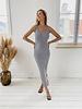 Grey Autumn Stretch Dress