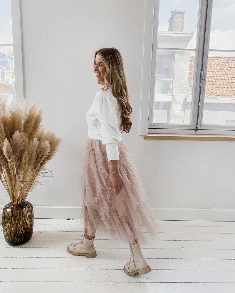 Soft pink Tule Skirt