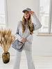Grey Autumn Cap