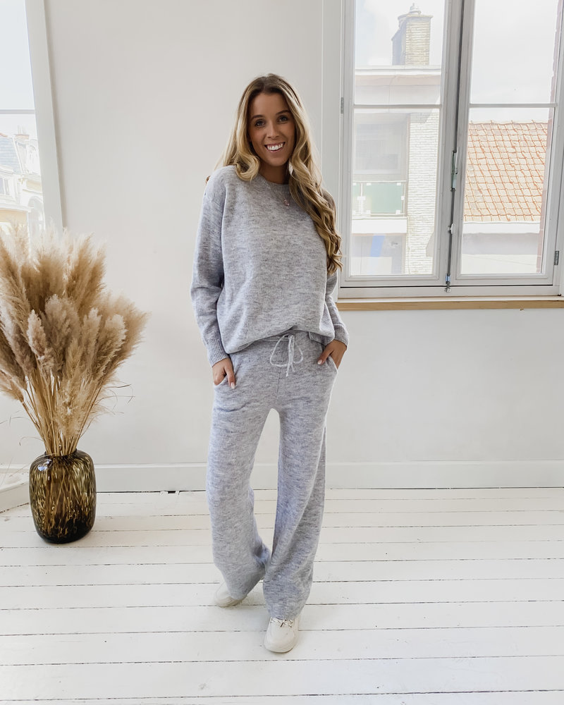 Grey Soft Casual Homesuit