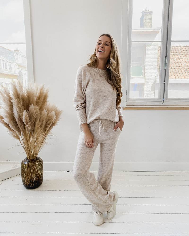 Beige Soft Casual Homesuit