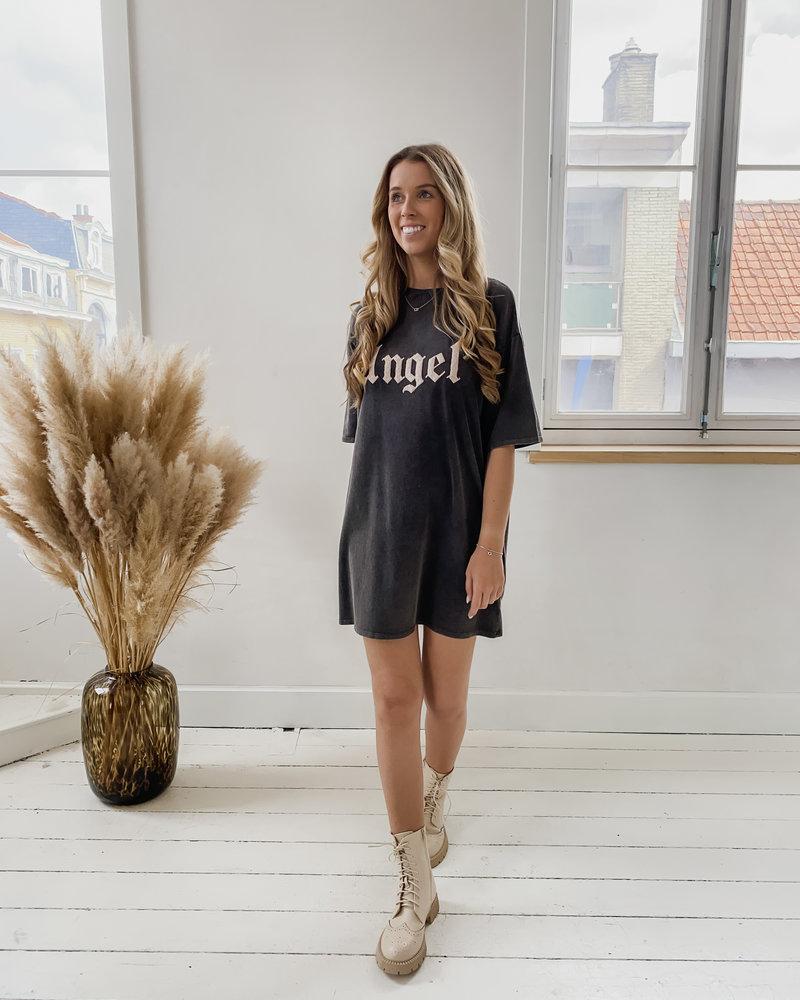 The Grey Angel T-Shirt Dress