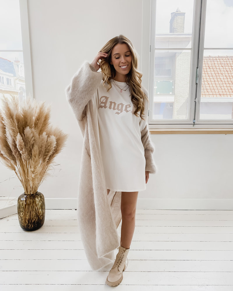 The White Angel T-Shirt Dress