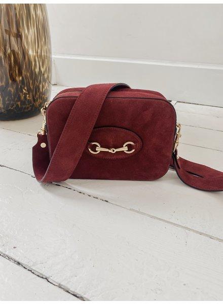 Bordeaux Golden Boucle Bag
