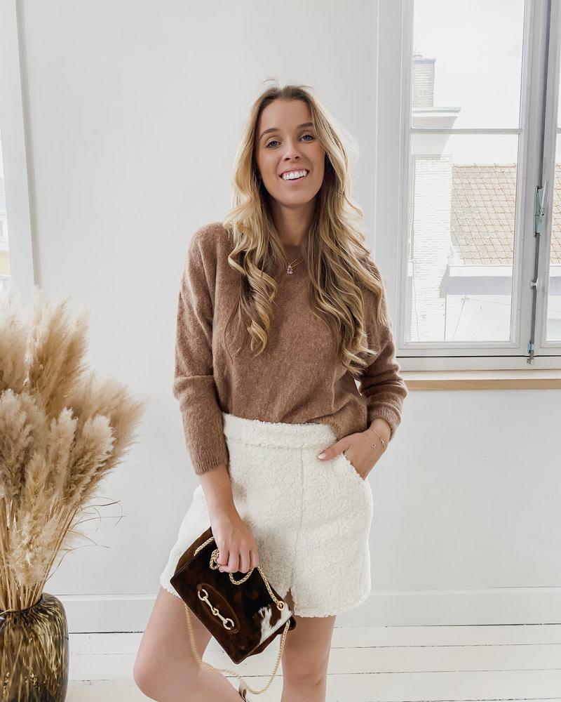 Camel Wool Sweater