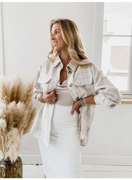 Crème Autumn Oversized Jacket