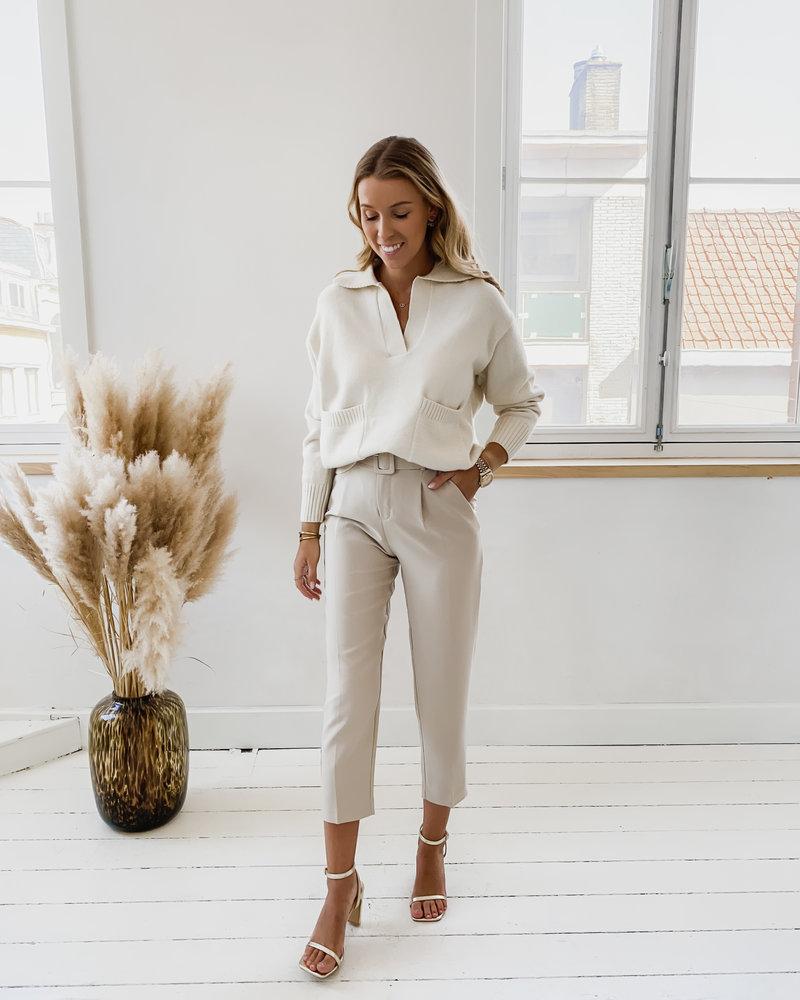 Crème Alice Sweater