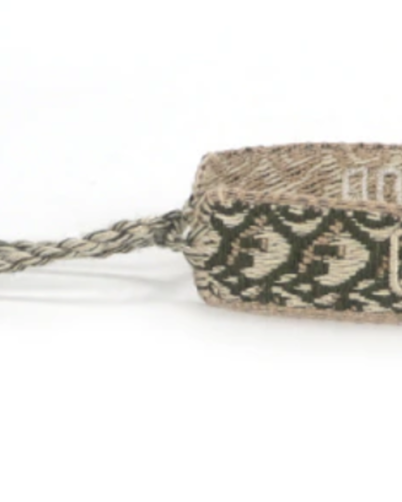 Green Detail Dior Inspired Bracelet