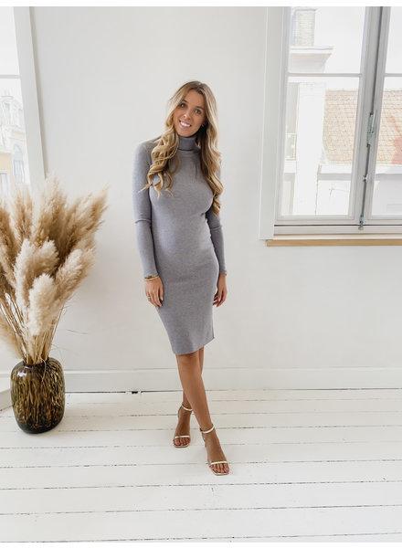 Basic Grey Stretch Dress