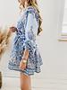 Blue Zimmermann Inspired Dress