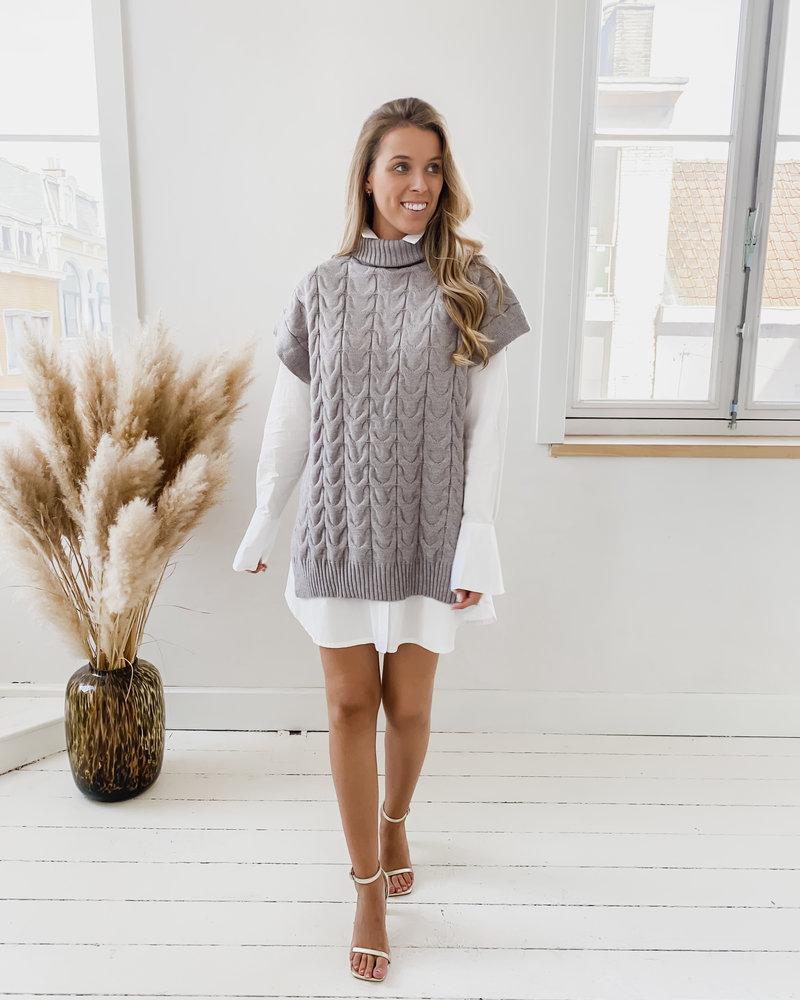 Basic White Cotton Dress