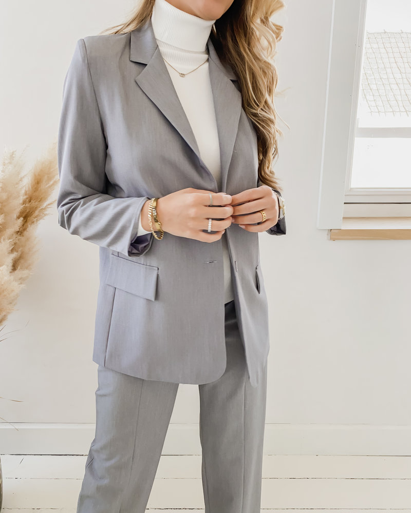Grey Classic Blazer