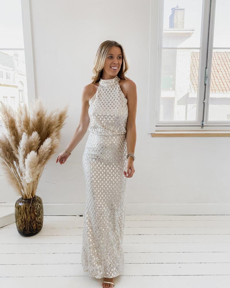 Silver Scala Dress