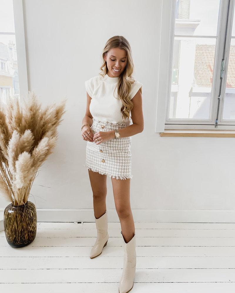 Creamy Valerie Sweater