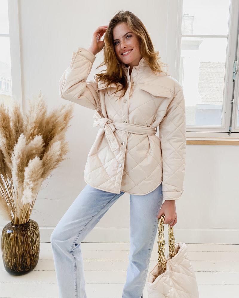 Ivory Golden Jacket