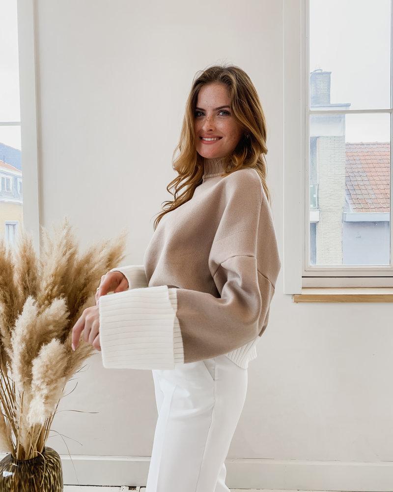 Beige Ruby Sweater