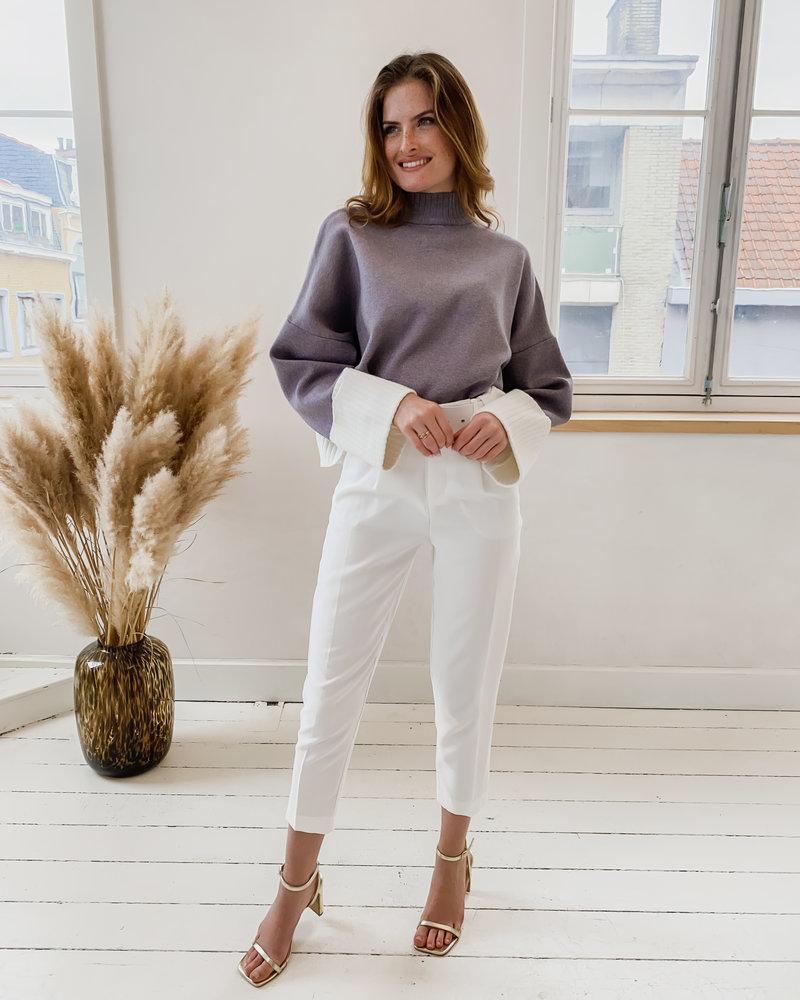 Grey Ruby Sweater