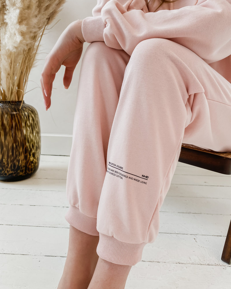 Pink Good Will Printed Homesuit